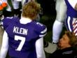 Kevin Saunders Motivational Coach works with QB Collin Klein to help inspire him during the game